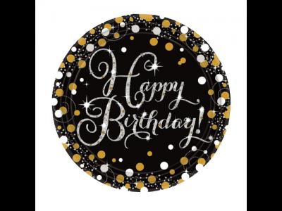 Sparkling Birthday Goud
