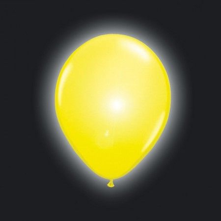 LED ballonnen geel 5 stuks Ballon LED verlichting Ballonnen