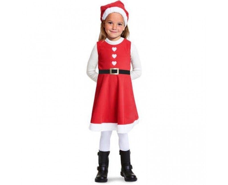 Luxe kerst jurkje meisjes, maat S