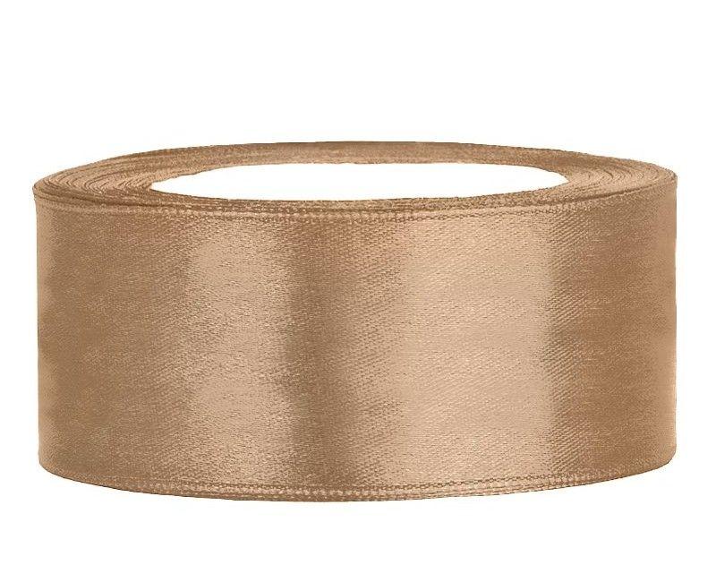 Satijn lint goud 25 mm for Feestversiering goud