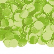 Confetti groen 100 gram