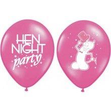 Ballonnen vrijgezellenfeest rose