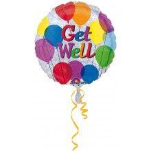 Folieballon Get Well