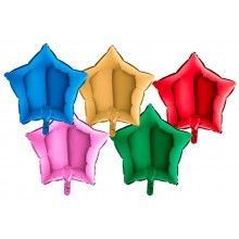 Folieballon ster 45 cm
