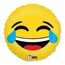 Folieballon emoji LOL 46cm