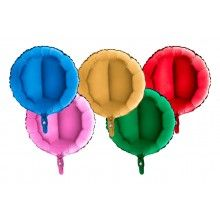 Folieballon rond 45 cm