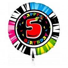 Folieballon animaloon Happy Birthday 5