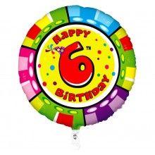 Folieballon animaloon Happy Birthday 6