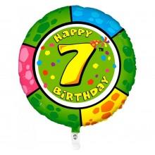 Folieballon animaloon Happy Birthday 7