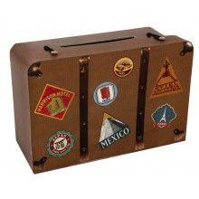 Geld geschenkdoos Reiskoffer