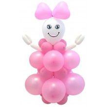 Ballonnen set DIY Baby Girl