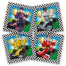 Servetten Formule 1