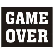 Schoenstickers Game Over