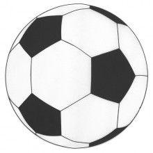 Placemat 36cm voetbal, 6 stuks