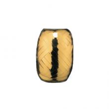 Rolletje lint 5mm goud metallic, 20 meter