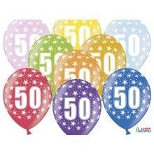 Leeftijd ballonnen 50 jaar